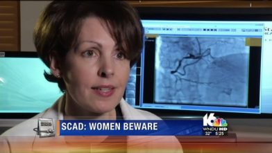 Doctors warn women of an uncommon type of heart attack