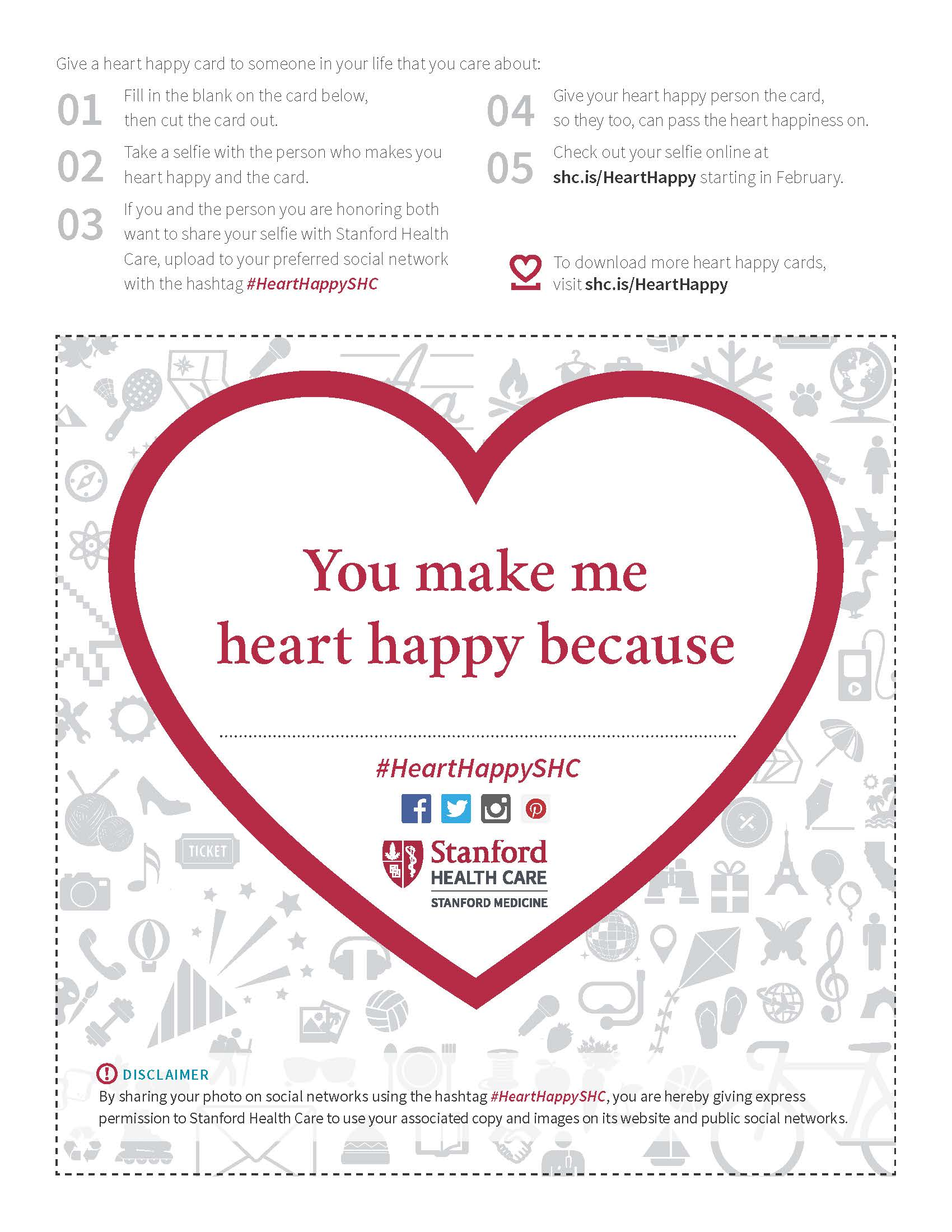 Download the #HeartHappySHC Card | Stanford Health Care