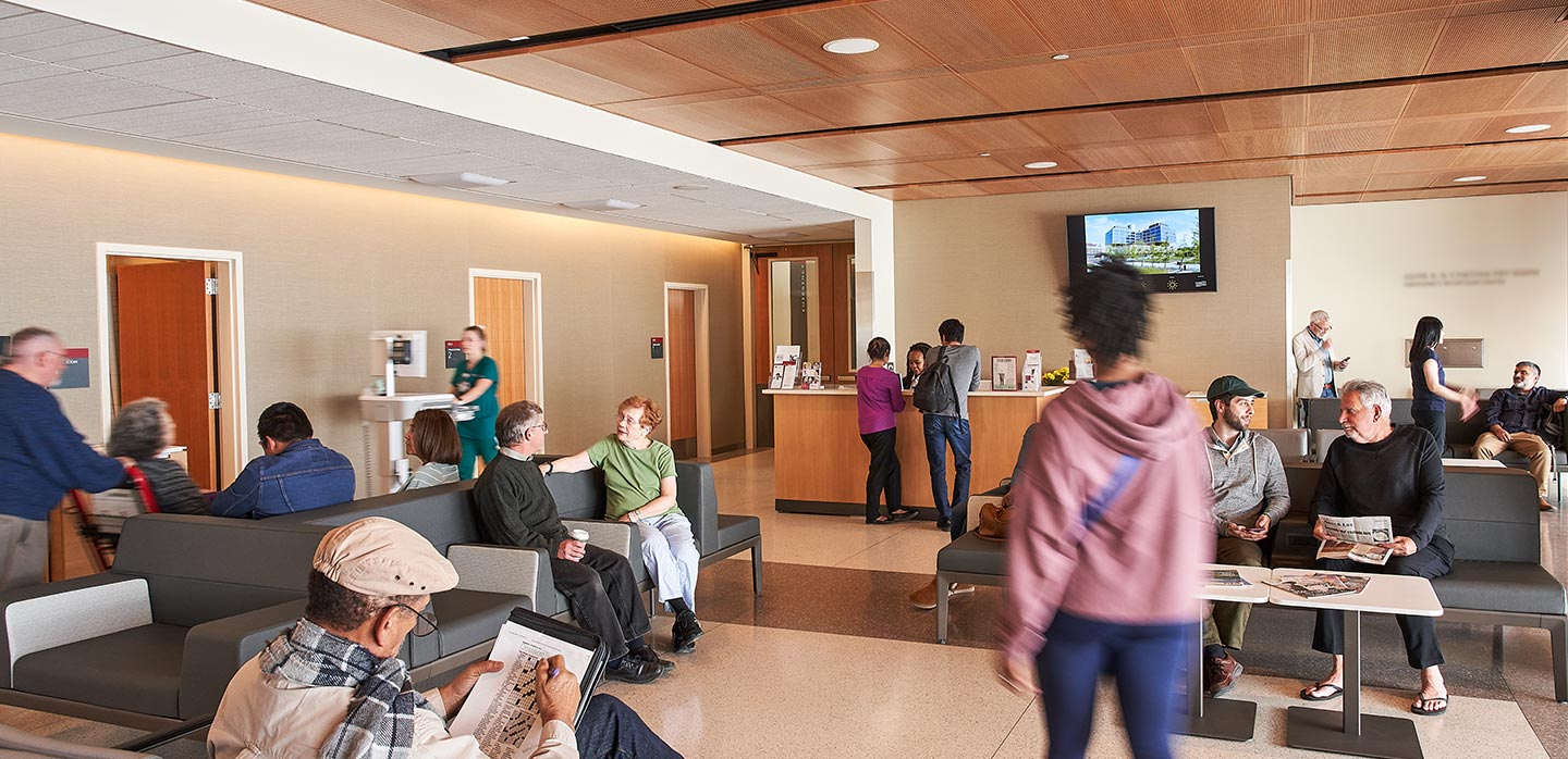 adult emergency department in the new stanford hospital