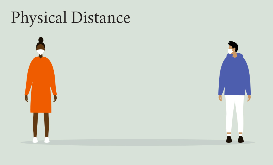 Physical distance