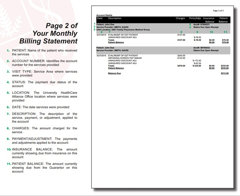 Utility Billing Customer Service  City Of Franklinsample Of