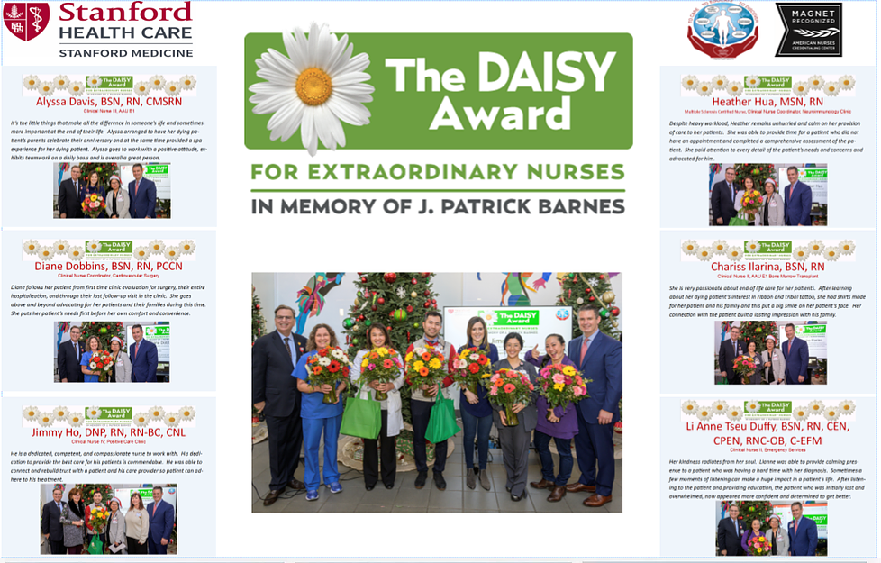 DAISY Award Recipients 2019