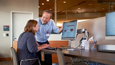 new stanford hospital health library