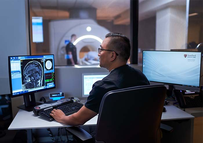 new stanford hospital imaging space