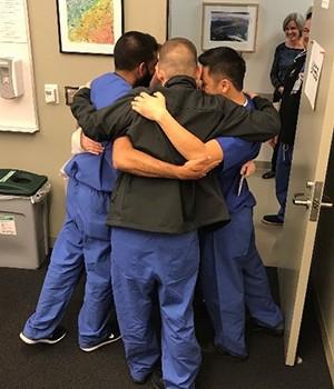 APP Group Nurse Hug