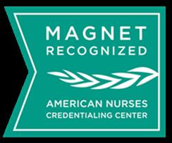 Magnet Recognized Logo: American Nurses Credentialing Center