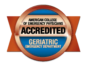 Logo: American College of Emergency Physicians - Geriatric Emergency Department