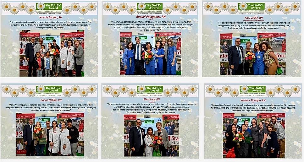 DAISY Award Recipients 2019