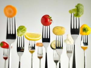 eating vegetables
