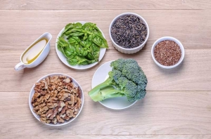 Omega-3 fatty acids found in plant based foods