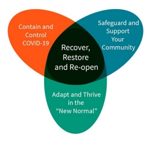 The R3 framework was conceived to help communities and organizations deal with the pandemic and recover from it.