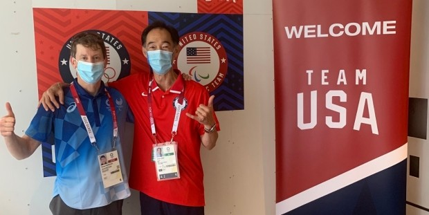 Sports medicine physicians Steve Isono and Michael Fredericson are spending a month in Tokyo